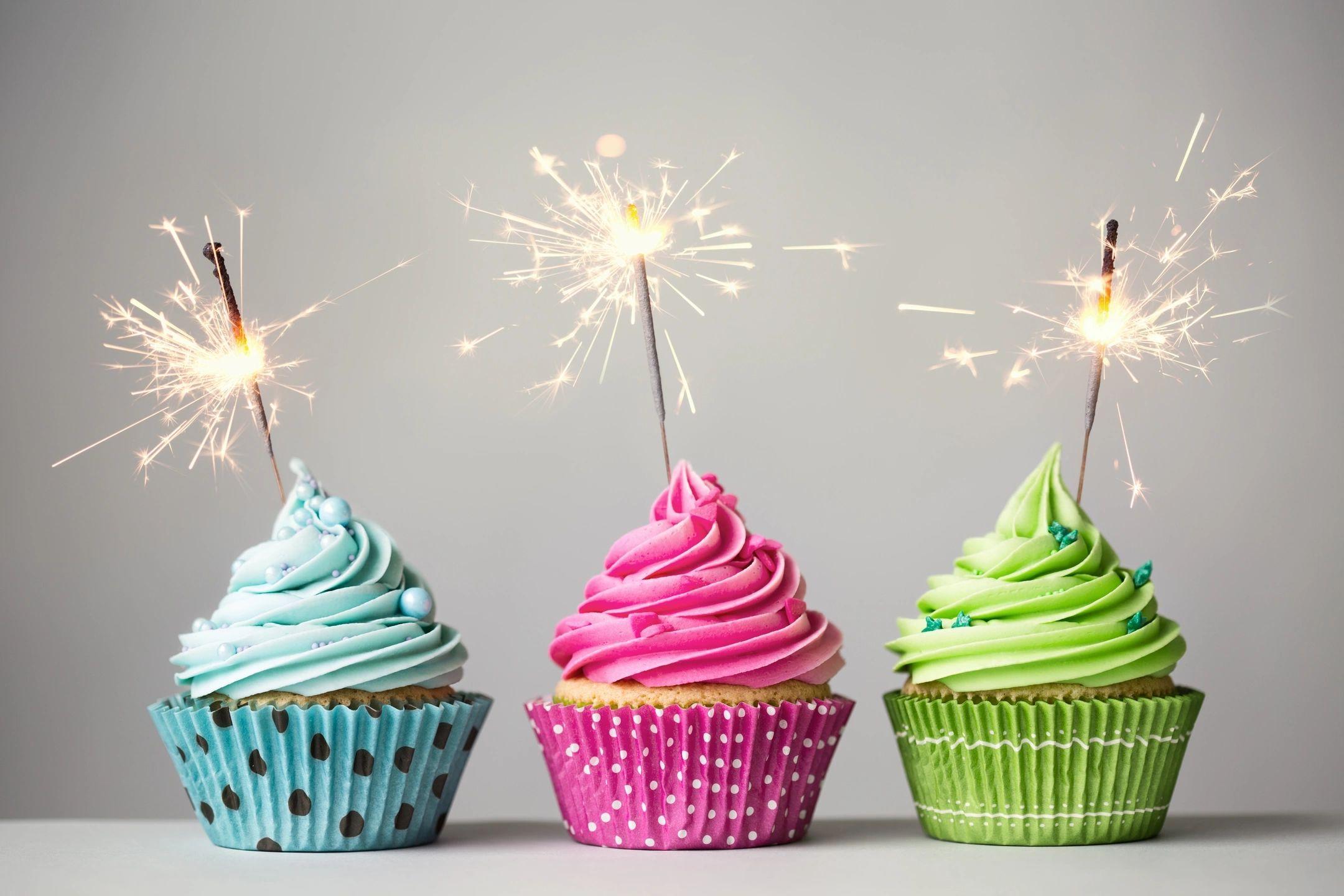 photo of birthday cupcakes