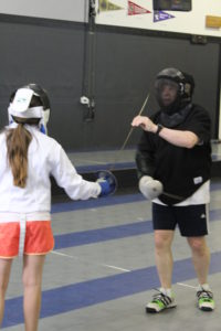 Photo of a student having a private lesson