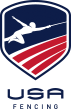 graphic of the U.S. Fencing logo