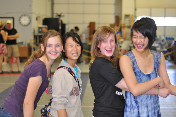 Great friendships are made in fencing as you learn to help and compete together.