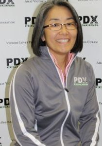 photo of PDX Fencing fitness coach Kara Gajowskjy