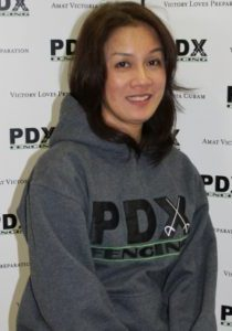 photo of PDX Fencing Yoga Instructor Yoko Oishi